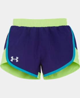 Girls' Pre-School UA Fast Lane Shorts   $14.99