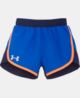Girls' Toddler UA Fast Lane Shorts