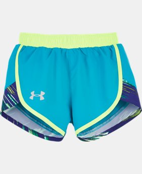 Girls' Pre-School UA Fast Lane Run Shorts  1 Color $16.99