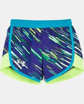 Girls' Pre-School UA Lumos Fast Lane Shorts
