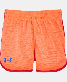Girls' Pre-School UA Essential Shorts   $13.99