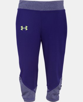 Girls' Pre-School UA Game Changer Capri  1 Color $19.99