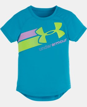 Girls' Pre-School UA Fly By Logo T-Shirt  1 Color $16.99