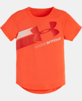 Girls' Toddler UA Fly By Logo T-Shirt LIMITED TIME: FREE U.S. SHIPPING 1 Color $16.99