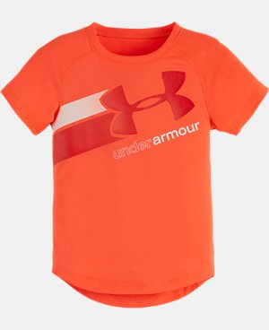 Girls' Toddler UA Fly By Logo T-Shirt LIMITED TIME: FREE U.S. SHIPPING 2 Colors $16.99