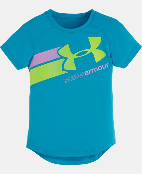 Girls' Toddler UA Fly By Logo T-Shirt LIMITED TIME: FREE U.S. SHIPPING  $16.99