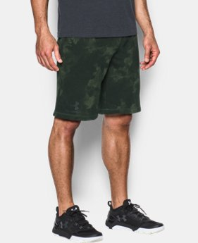 Men's UA Terry Graphic Shorts  1 Color $33.74