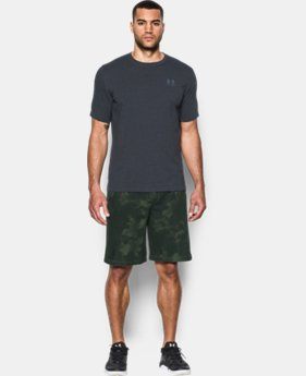 New Arrival  Men's UA Terry Graphic Shorts  1 Color $69.99