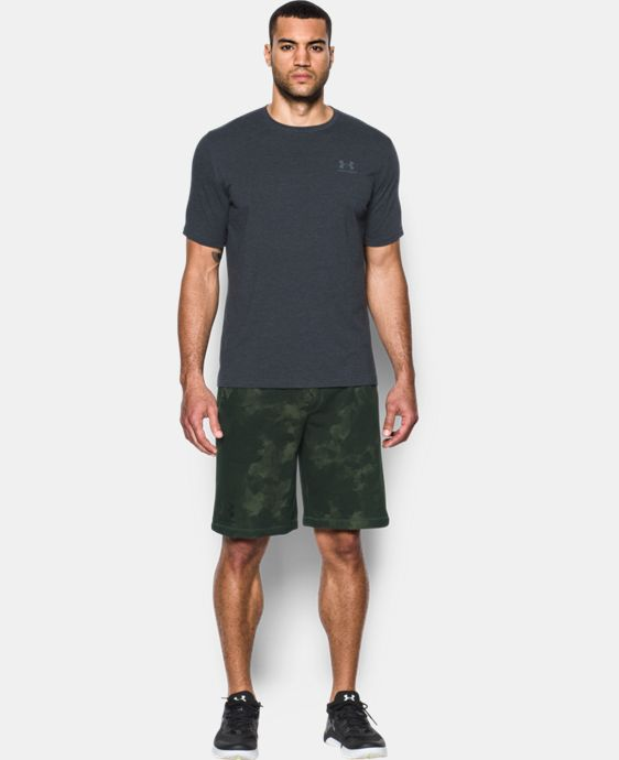 Men's UA Terry Graphic Shorts  1 Color $44.99