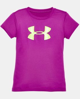 New Arrival  Girls' Infant UA Big Logo T-Shirt LIMITED TIME: FREE SHIPPING 1 Color $11.99