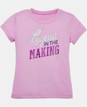 Girls' Pre-School UA Legend In The Making Short Sleeve T-Shirt  1 Color $13.99