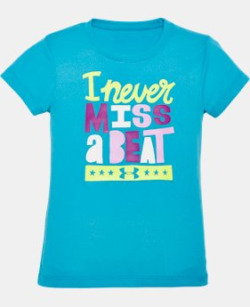 Girls' Pre-School UA I Never Miss A Beat T-Shirt