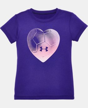 Girls' Pre-School UA Heartbeat Short Sleeve T-Shirt