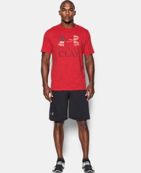 New to Outlet Men's UA x Muhammad Ali Cassius Sportstyle T-Shirt  1 Color $26.99