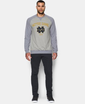 Men's Notre Dame UA Terry Fleece Crew   $64.99