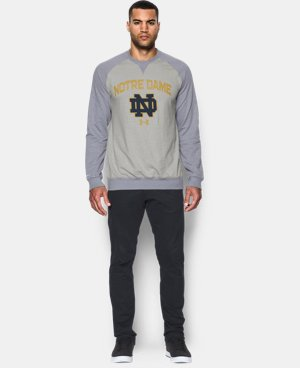 Men's Notre Dame UA Terry Fleece Crew  1 Color $64.99