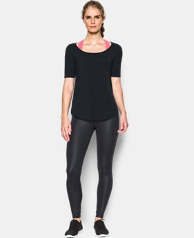 New Arrival  Women's UA Essential Demi T-Shirt  LIMITED TIME: FREE SHIPPING 2 Colors $33.99 to $44.99