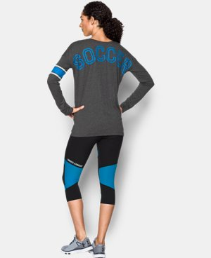 Women's UA Soccer Long Sleeve  1 Color $33.99
