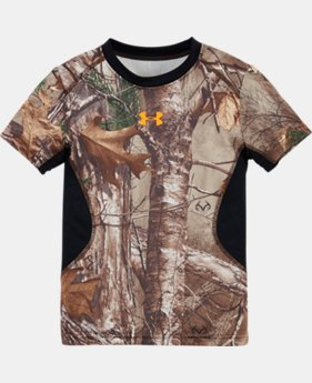 Boys' Pre-School UA Real Tree Big Game T-Shirt