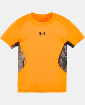 Boys' Pre-School UA Real Tree Big Game T-Shirt   $22.99