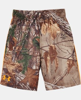 Boys' Pre-School UA Real Tree Ulitimate Shorts