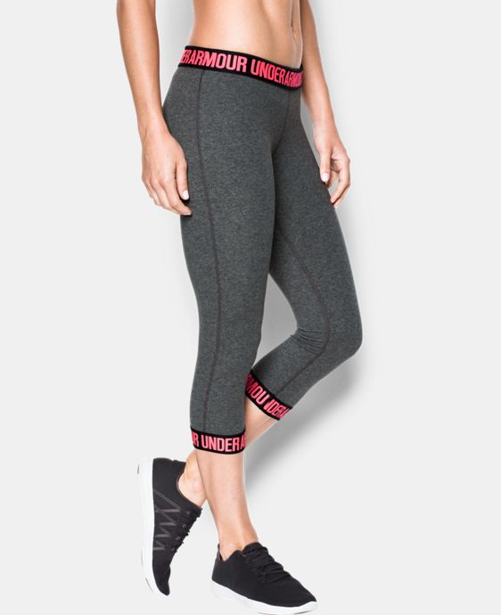 Women's UA Favorite Word Mark Capri   1 Color $37.99