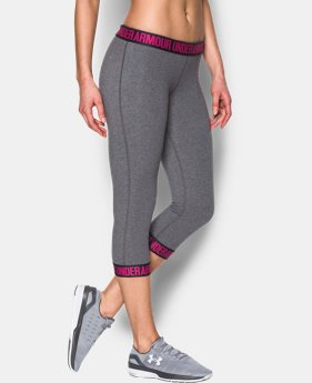 Women's UA Power In Pink® Favorite Capris  3 Colors $44.99