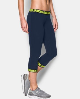 Women's UA Favorite Word Mark Capri  1 Color $44.99