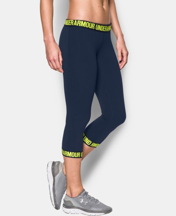 Women's UA Favorite Word Mark Capri    $26.99 to $33.99