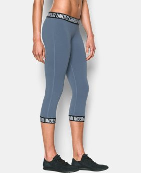 Women's UA Favorite Word Mark Capri  LIMITED TIME: FREE U.S. SHIPPING 1 Color $25.49 to $33.99