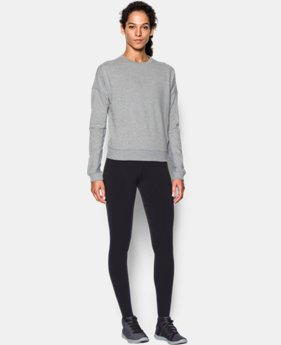 Best Seller Women's UA Modern Terry Crew   $79.99