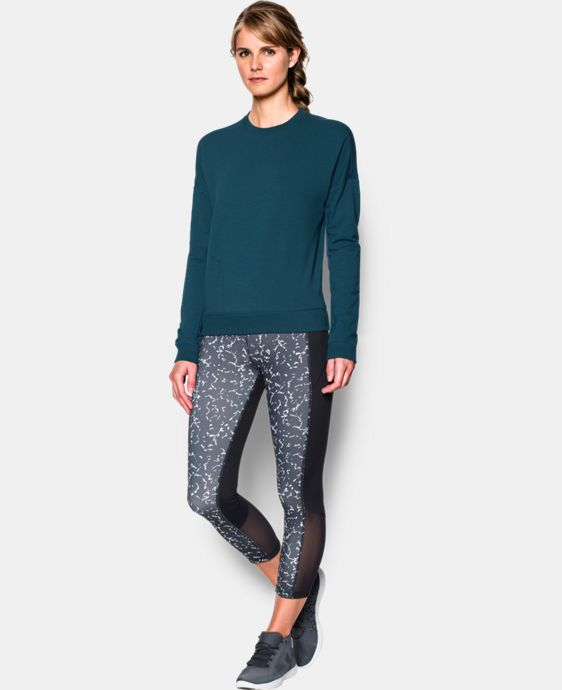 Best Seller Women's UA Modern Terry Crew LIMITED TIME: FREE U.S. SHIPPING  $69.99