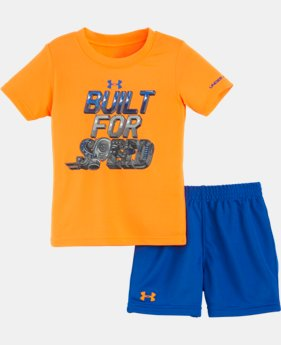 Boys' Infant UA Built For Speed Set