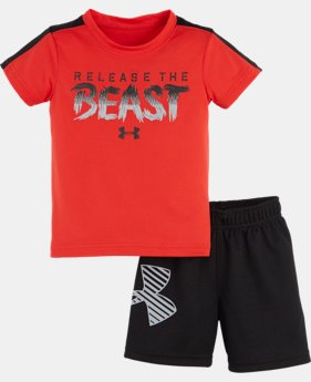 Boys' Infant UA Release The Beast Set