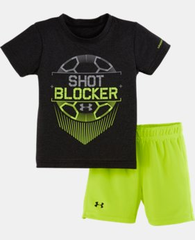 Boys' Infant UA Shot Blocker Set