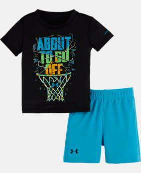 New Arrival Boys' Infant UA About To Go Off Set LIMITED TIME: FREE SHIPPING 2 Colors $32.99