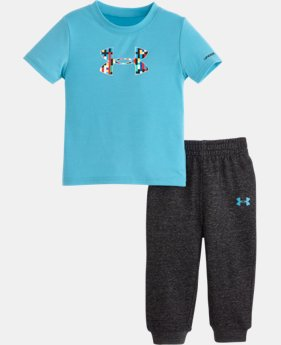 Boys' Infant UA Pixel Zoom Big Logo Set