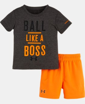 New Arrival Boys' Infant UA Ball Like A Boss Set LIMITED TIME: FREE SHIPPING  $32.99