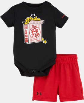 Boys' Infant UA Don't Pop It Up Set