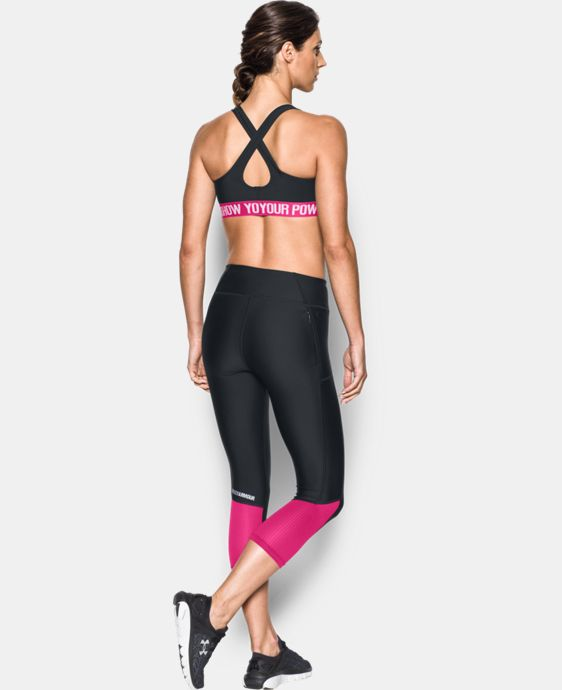 Women's UA Power In Pink® Armour® Crossback Mid   $29.99