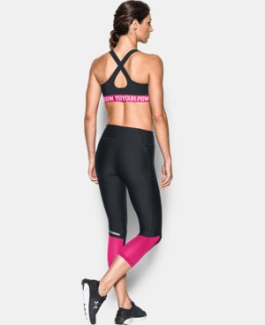 Women's UA Power In Pink® Armour® Crossback Mid  1 Color $29.99