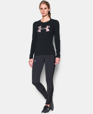 Women's UA Camo Big Logo Long Sleeve T-Shirt LIMITED TIME: FREE U.S. SHIPPING 1 Color $17.24 to $22.99