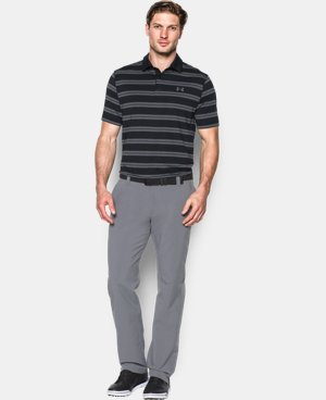 Best Seller Men's UA Groove Stripe Polo LIMITED TIME: FREE U.S. SHIPPING  $64.99