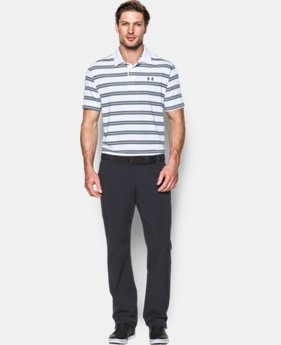 Men's UA Groove Stripe Polo  1 Color $56.99