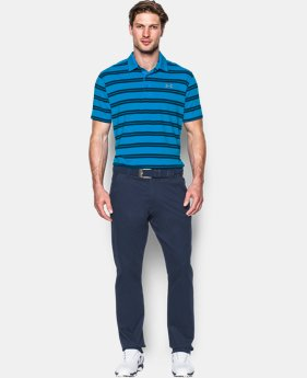 Men's UA Groove Stripe Polo LIMITED TIME: FREE SHIPPING 1 Color $42.74