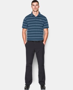Men's UA Groove Stripe Polo  1 Color $33.74 to $42.74