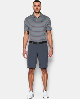 Men's UA coldblack® Ace Stripe Polo