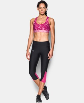 Women's UA Power In Pink® Armour® Crossback Mid Graphic  1 Color $22.99