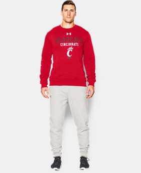 Men's Cincinnati UA Rival Fleece Crew