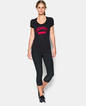 Women's UA Charged Cotton® Tri-Blend Cincinnati V-Neck